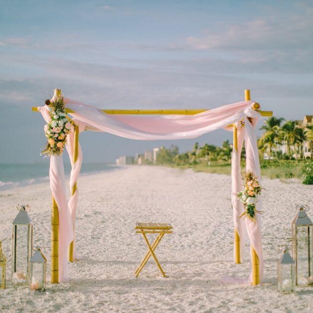 beach wedding decoration fort lauderdale
