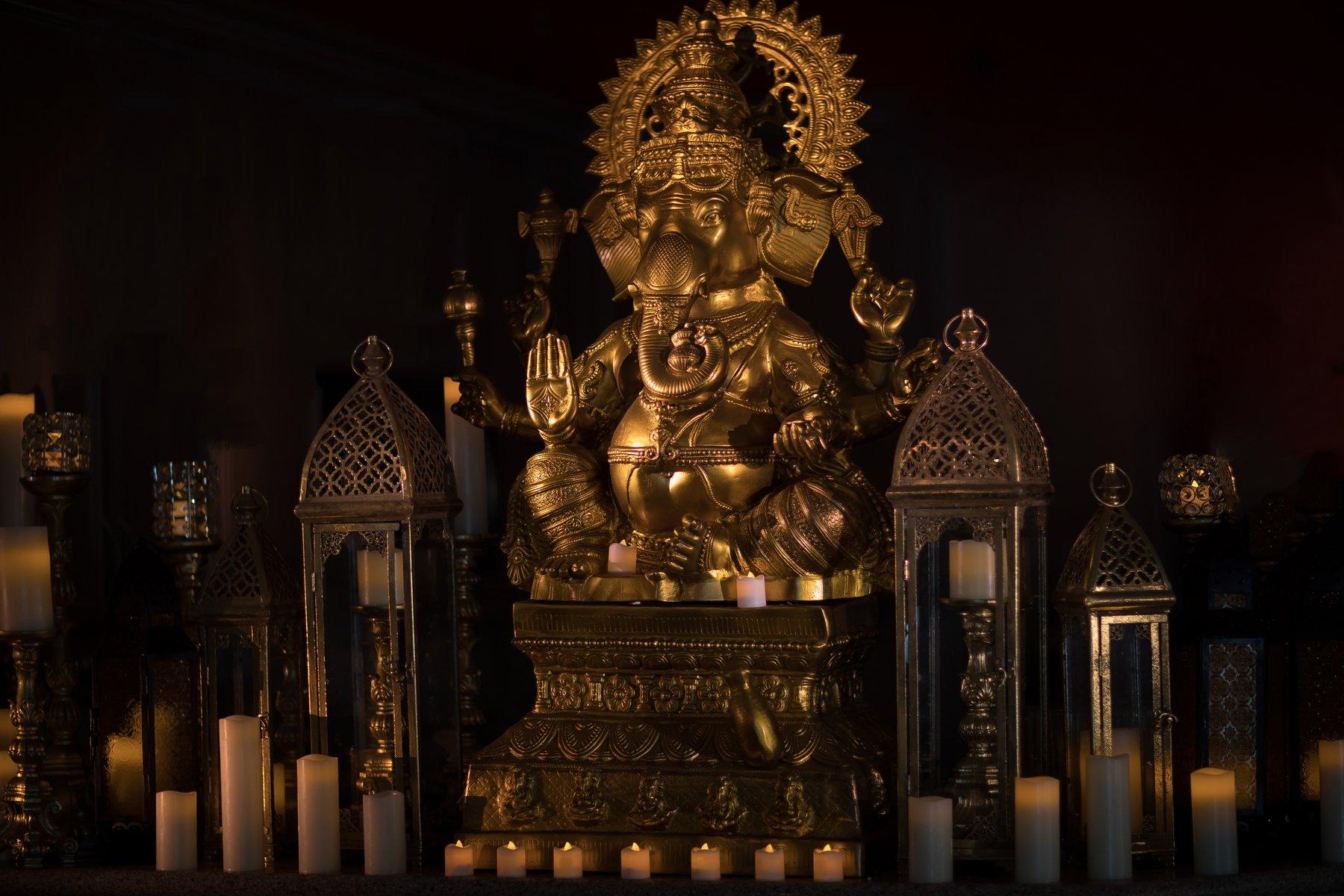 indian wedding decoration orlando ganesha statue